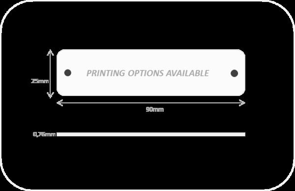 RFID UHF Tally size