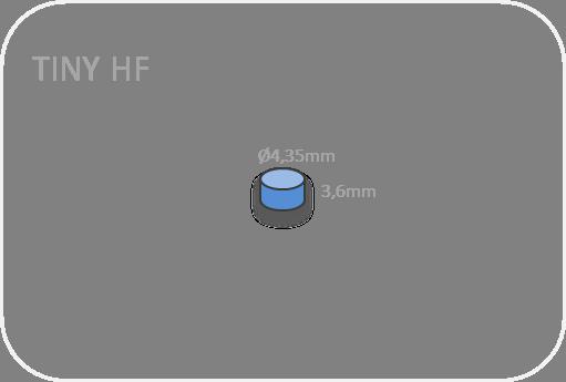 Tiny HF RFID size