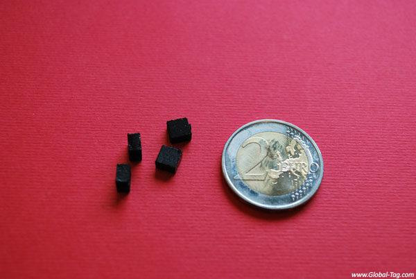 Famille Tiny petits tag RFID UHF pour métal