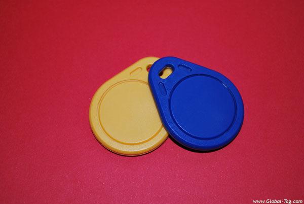 Transponder Chainy RFID LF HF UHF e NFC, llavero
