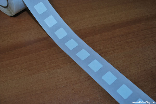 Etichetta RFID label HF NFC 18x18 mm