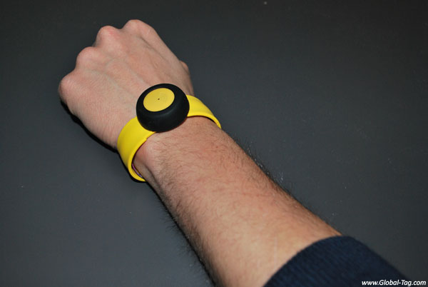 BLE disposable wristband