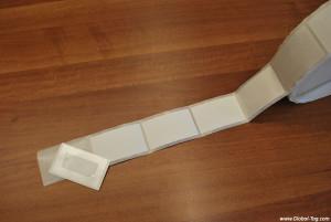 RFID UHF label AH4 60x90mm