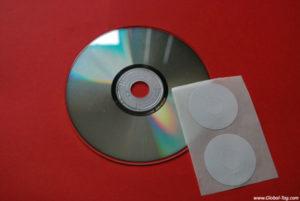 UHF CD Label