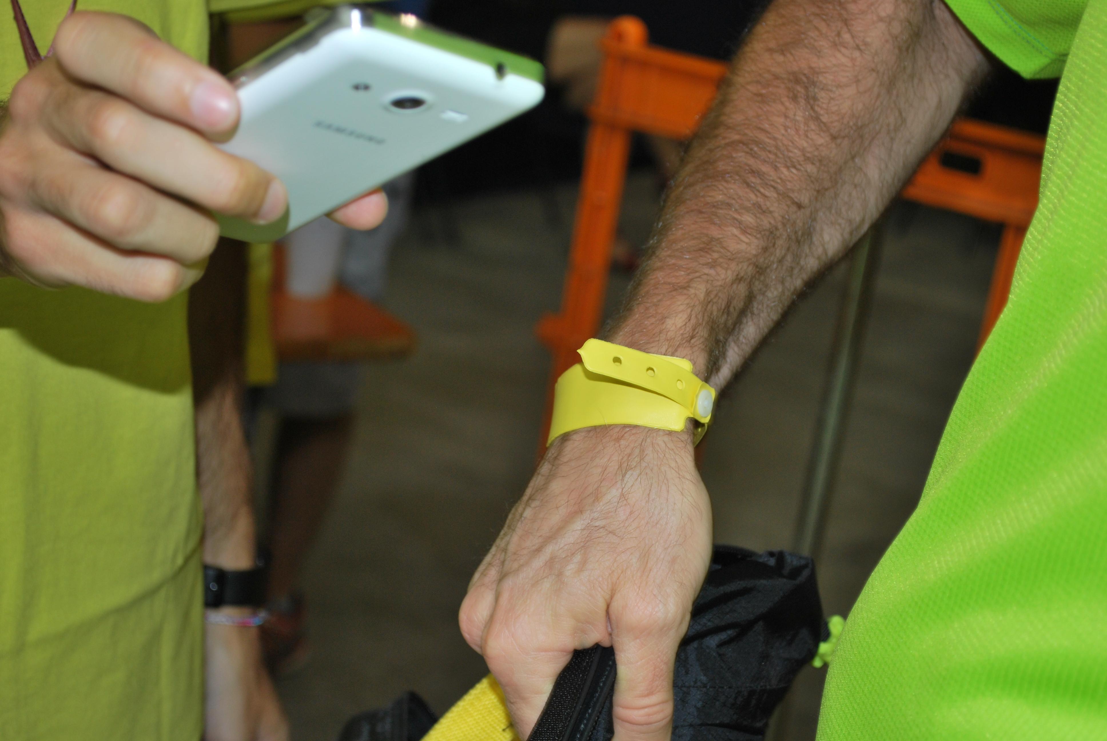 Bracciale NFC