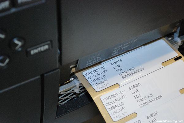 Etichetta on metal RFID UHF