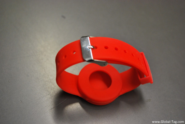 BLE Wristband with accelerometer