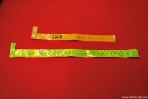 RFID UHF Disposable Wristband