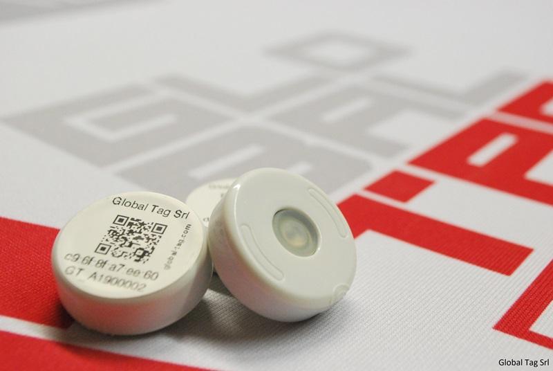 DISK BEACON - BLE Smart Beacon with optional sensor - Global Tag Srl