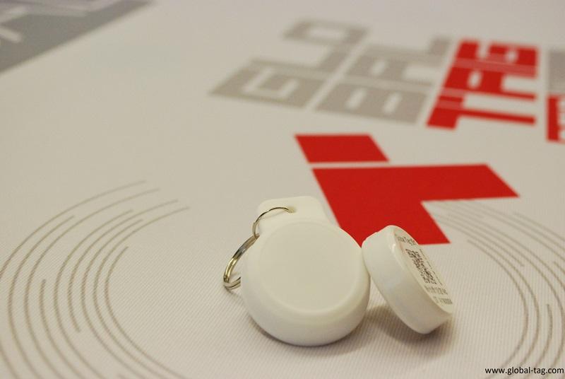 Smart BLE Keyfob Beacon
