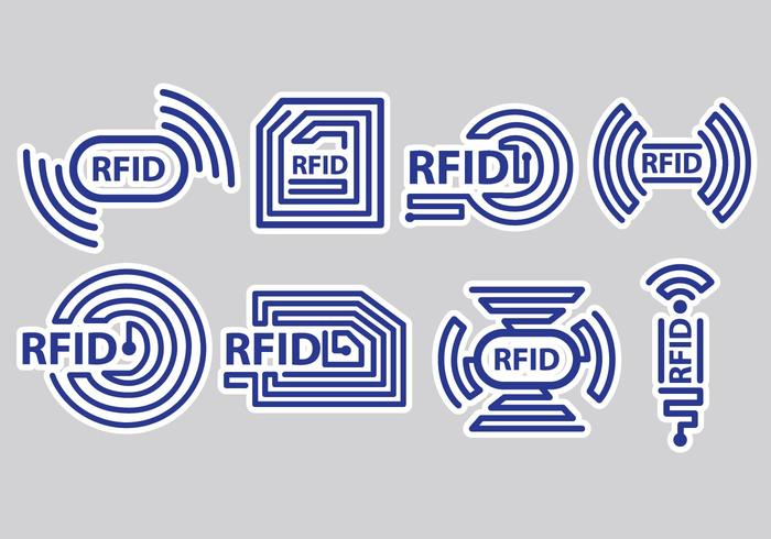 RFID UHF & HF new antenna layouts