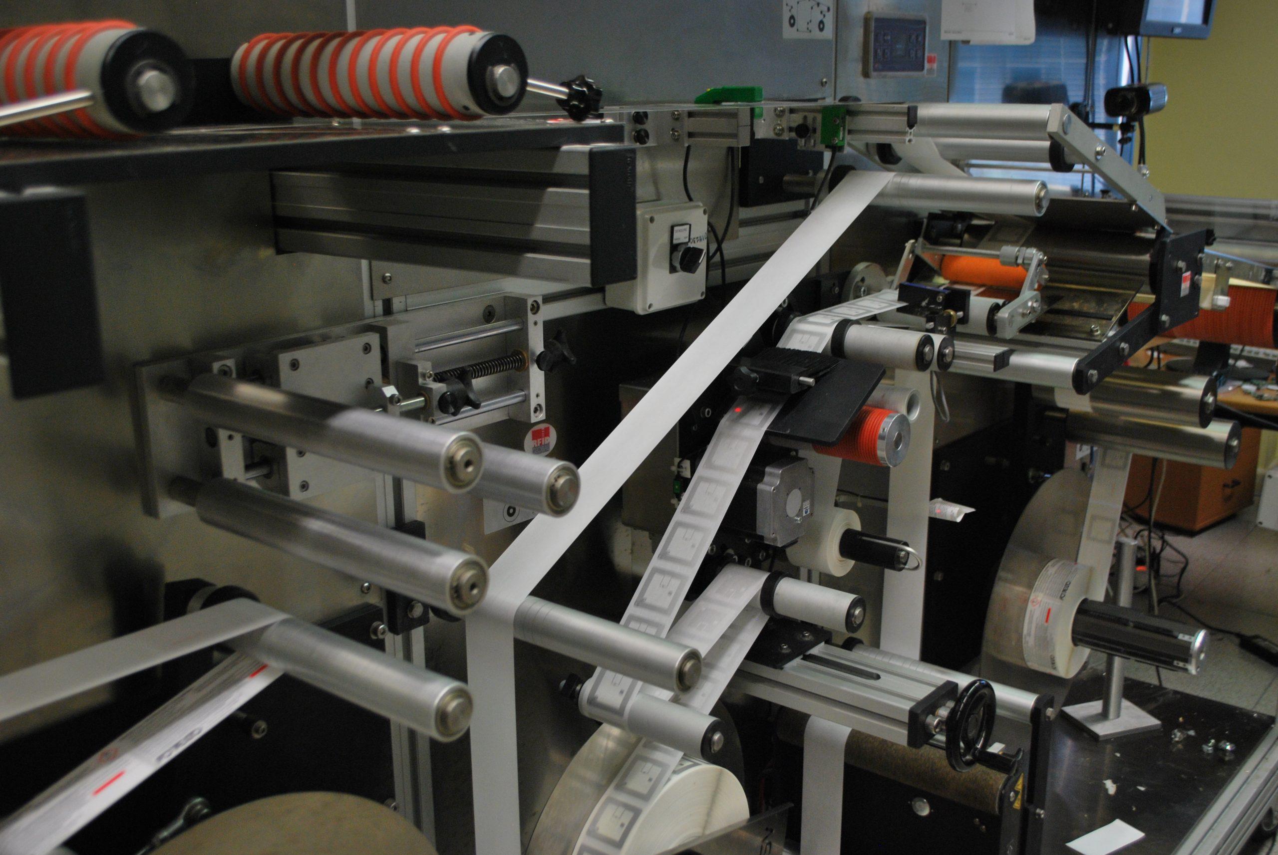 Service de production d'étiquettes RFID